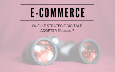 E-commerce : Quelle stratégie marketing digitale adopter en 2020 ?