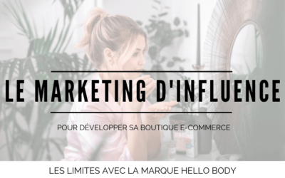 Le marketing d'influence suffit-il à développer votre boutique e-commerce ?  [Etude d'Hello Body]